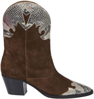 Paris Texas Bicolor Ankle Boots