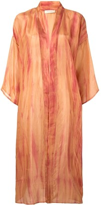 Mes Demoiselles Tie-Dye Kimono Jacket