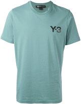 Y-3 logo print T-shirt - men - Cotton - L