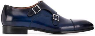Santoni Classic Monk Shoes