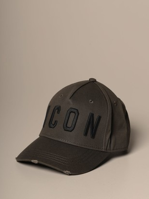 DSQUARED2 Baseball Cap With Icon Logo