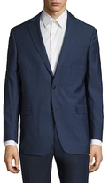 Brooks Brothers Wool Stripe Notch Lapel Sportcoat