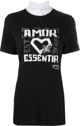 Dolce & Gabbana Amor Essentia print T-shirt