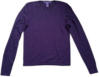 Ralph Lauren Purple Cashmere Knitwear for Women Vintage