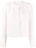 Giambattista Valli Short Tweed Jacket