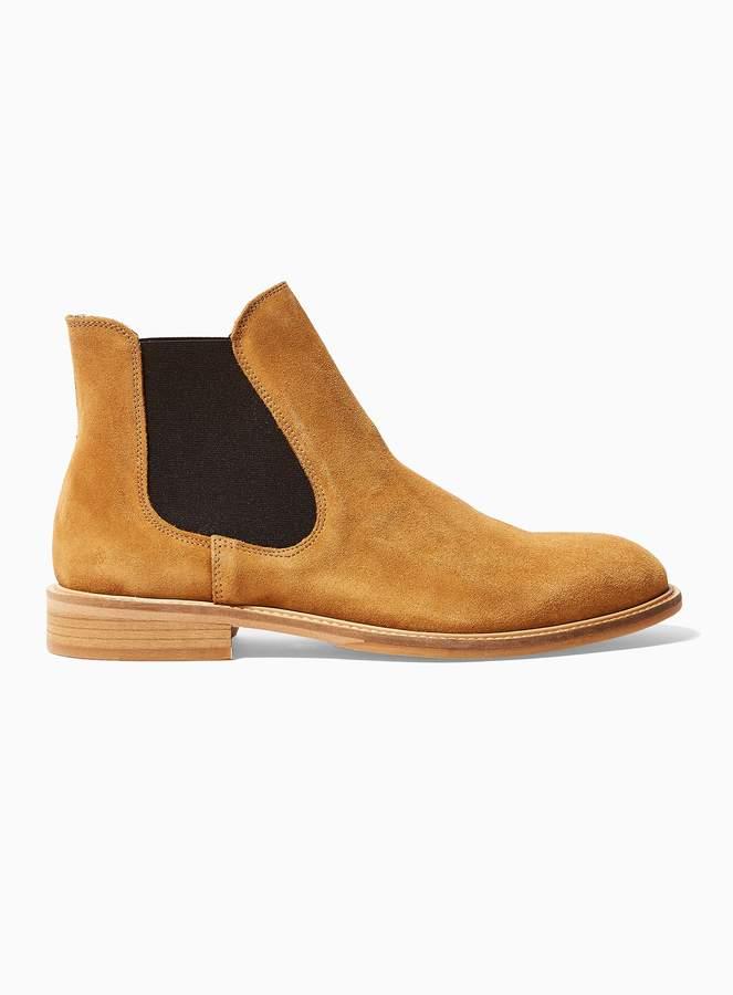 brillance des couleurs braderie Livraison gratuite dans le monde entier TopmanTopman SELECTED HOMME Brown Suede Baxter Chelsea Boots