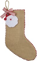 Mud Pie Christmas Tag Stocking, Santa