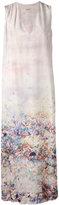 Cacharel - robe longue à fleurs -