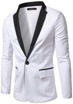 Retrograder Mens Casual Black- Slim Fit Blazers Jackets Coats B018-XL