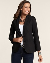 Chico's City Chic Two Button Blazer