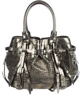 Burberry Metallic Studded Tote