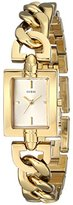 GUESS Women's U0437L2 Gold-Tone Watch with Link Bracelet
