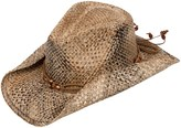 Scala Seagrass Cowboy Hat - Seagrass Straw (For Women)