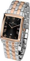 Jacques Lemans Bienne Men's Multicolor Rose Gold Mineral Glass Watch 1-1611H