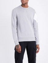 Moncler Gamme Bleu Logo-detail cotton-jersey sweatshirt