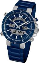 Jacques Lemans Men's 1-1712C Milano Sport Analog with Analog-Digital Display Watch