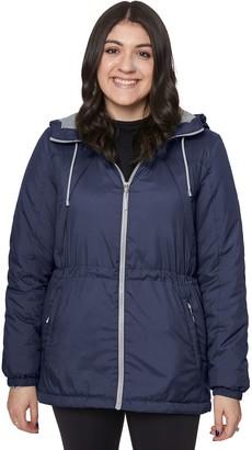 Women's Halitech Hooded Colorblock Windbreaker Jacket