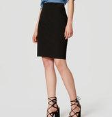 LOFT Curvy Custom Stretch Pencil Skirt