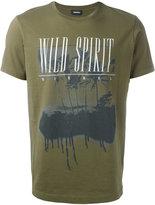 Diesel printed motif T-shirt - men - Cotton - M