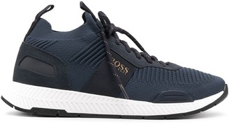 HUGO BOSS Titanium Run lace-up sneakers