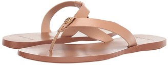 Tory Burch Manon Thong Sandal (Perfect Black) Women's Shoes