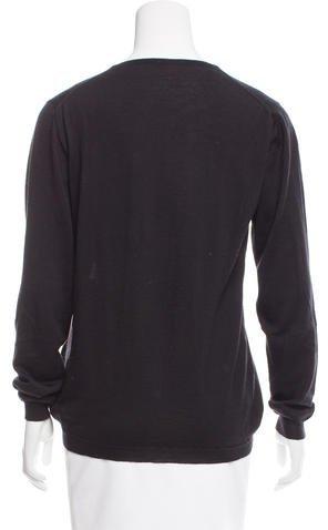 Malo Cashmere & Silk-Blend Knit Sweater