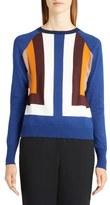 Marni Colorblock Silk Blend Sweater