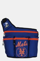 Diaper Dude Infant 'New York Mets' Messenger Diaper Bag - Blue