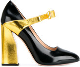 Gucci bow strap pumps - women - Leather/Nappa Leather - 36