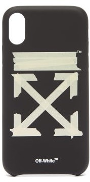 Off-White Off White Arrow-print Iphone Xr Case - Mens - Black