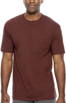 STAFFORD Stafford Performance Heavyweight Crewneck Pocket Tee