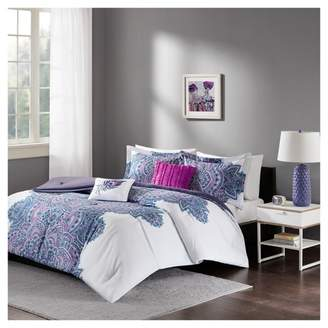 Nobrand No Brand Purple Lolita Printed Comforter Set