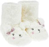 Accessorize Paula Polar Bear Fluffy Slipper Boots