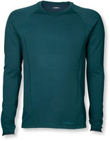L.L. Bean Men's Power Dry Stretch Base Layer, Midweight Long-Sleeve Crew