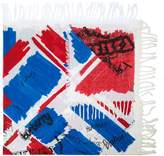 Burberry scribble print scarf