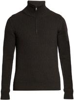 Dolce & Gabbana Funnel-neck wool sweater