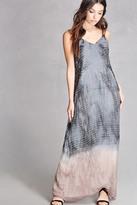Forever 21 FOREVER 21+ Dip-Dye Maxi Dress