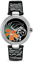 Versace Mystique Hibiscus Watch, 38mm