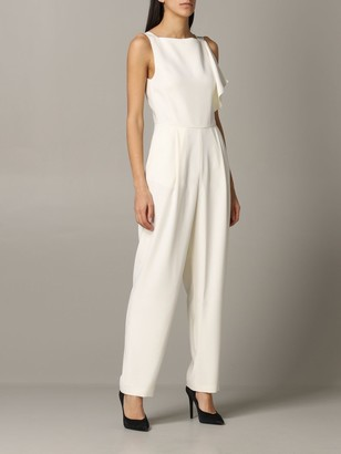 Emporio Armani Jumpsuits Suit In Cady And Satin