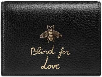 Gucci Animalier card case