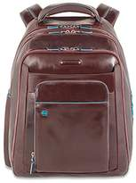 Piquadro Computer Backpack with Compartment, Mahogany, One Size