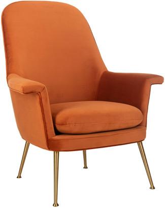 Safavieh Aimee Velvet Arm Chair
