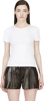 Roksanda White Contrast Trim T-shirt