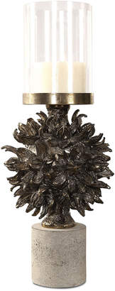 Uttermost Autograph Tree Antiqued Bronze Candleholder