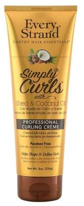 Butter Shoes Every Strand Curling Creme Simply Curls Coconut Oil & Shea 8oz