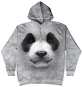 The Mountain Gray Panda Bear Hoodie - Unisex