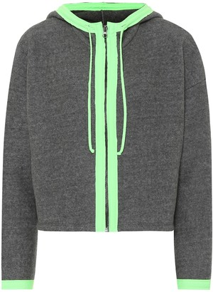 Lanston Sport Pursuit cropped hoodie