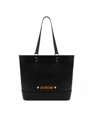 Love Moschino Shopper With Logo Woman Black Size Single Size