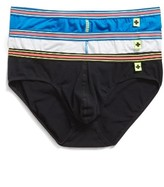 Andrew Christian Men's 3-Pack Tagless Stretch Cotton Briefs