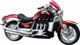 Tobar Triumph Rocket Iii Detailed Miniature 1:18 Scale Model Motorcycle Toy For Kids